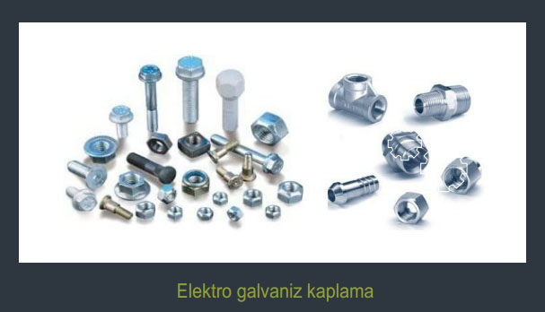 Elektro Galvaniz Kaplama